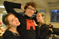 Ansku (Persian), Timo (Giovanni) & Noora (Sabrina)